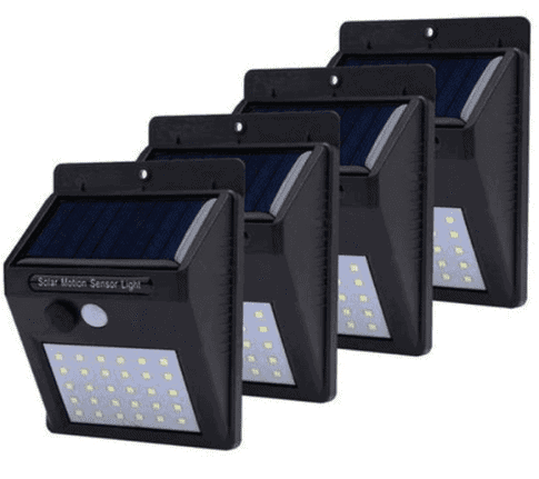 20/30/100 LED Outdoor Solar Sensor Energy Saving Wall Lamp